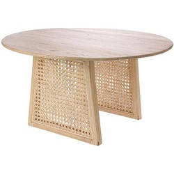 HKliving webbing coffee table m natural