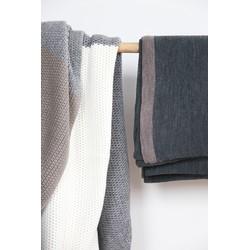 PLAID 1/3 white/grey