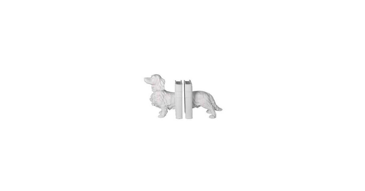 Clayre & Eef Boekensteun (2) hond 28*12*22 cm 6PR3394