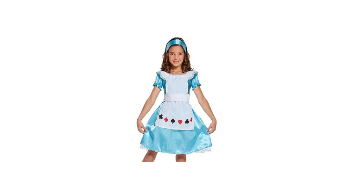 3-Delig Alice in wonder land Jurkje - Meisjes - Alice wonderland - Carnavalskleding - Verkleedkledin
