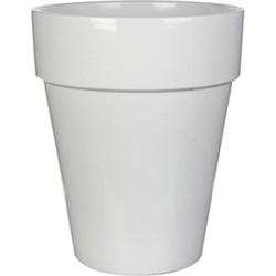 Pot rond chris maat in cm: 36 x 31 wit