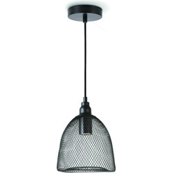 Home sweet home hanglamp Mesh Ø 18 cm - zwart