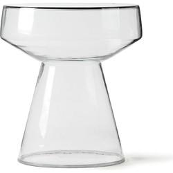 HKliving bijzettafel glas