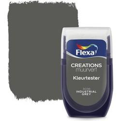 Muurverf Tester Industrial Grey 30 ml