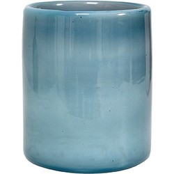 Hkliving Waxinelichthouder 11 cm - Blauw