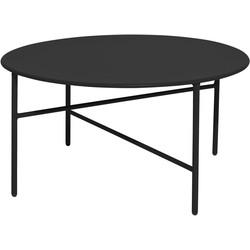 Salontafel - Mila - Rond - ø 70 cm - Zwart