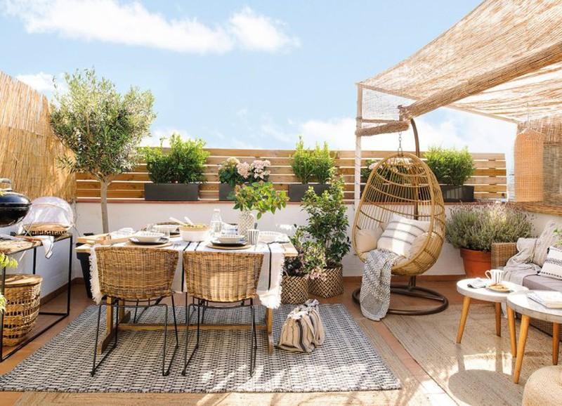 Shop the look: Spaans terras met natuurlijke materialen