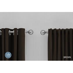 Lifa Living Gordijnen - Bruin ringen