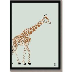 Dierenposter Giraffe - A3