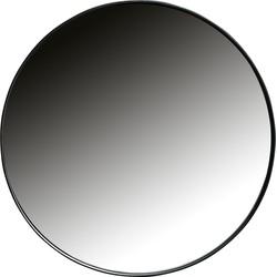 Doutzen Spiegel Metaal Zwart Ø50cm