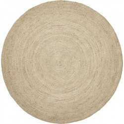 Nordal Jute rond karpet naturel Ø150 cm