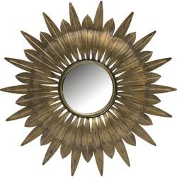 Confess Spiegel Metaal Antique Brass Ø41cm