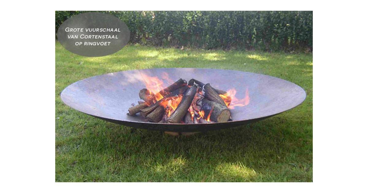 Gofire Adeco Vuurschaal - XXXL - Cortenstaal - 150 cm