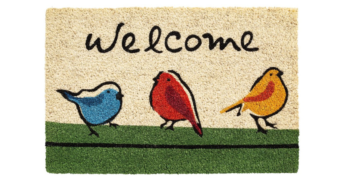 Ruco Print Welcome Birds 40x60