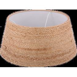 Staande lampenkap jute rope drum 35 cm naturel