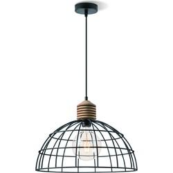 Home sweet home hanglamp Vinto 40 - zwart draadlamp