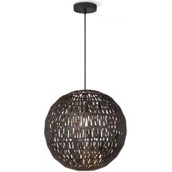 Home sweet home hanglamp Rope 40 - zwart