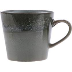 HKliving cappuccino mok moss seventies style keramiek  Ø 9,5 cm