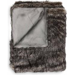 Plaid Felton 140x200 cm anthracite - 100% Acryl 100% Polyester