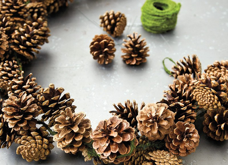 Super simpele herfst-DIY's met dennenappels