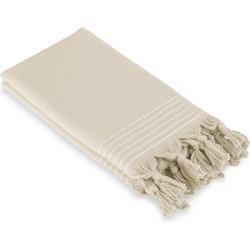 Walra Gastendoek Soft Cotton Hamam 2x(30x50) Kiezel Grijs