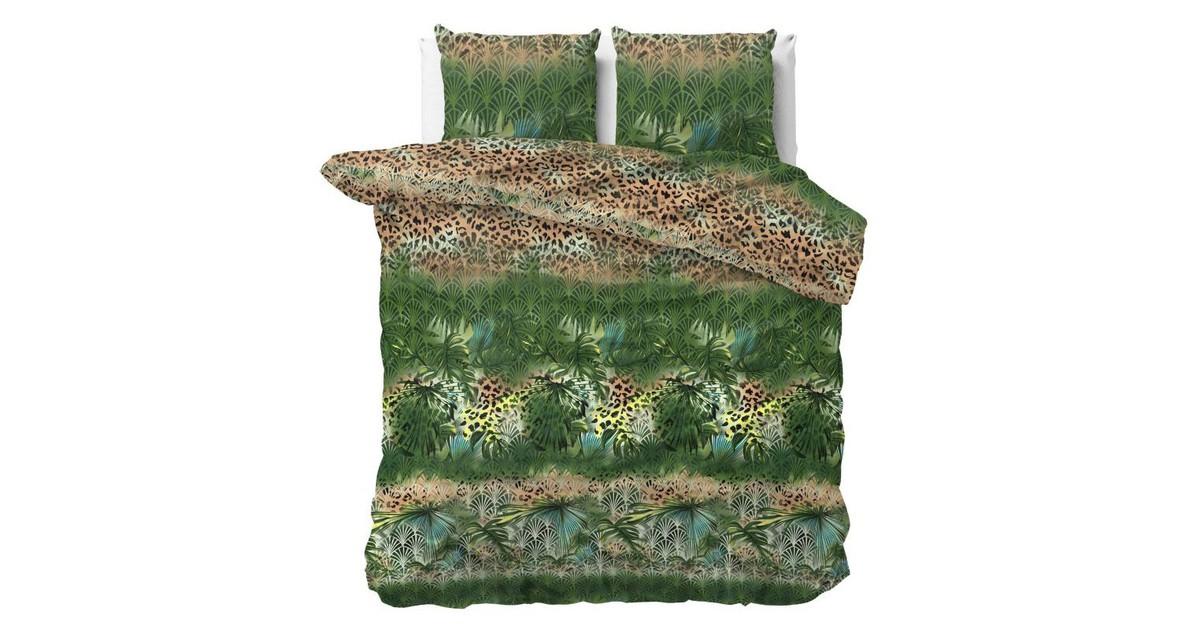 Sleeptime Dekbedovertrek Trendy Jungle Green-Lits-jumeaux (240 x 200/220 cm)