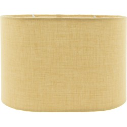 Lampenkap | 20*13*13 cm | Geel | Textiel | Rond | Clayre & Eef | 6LAK0444Y