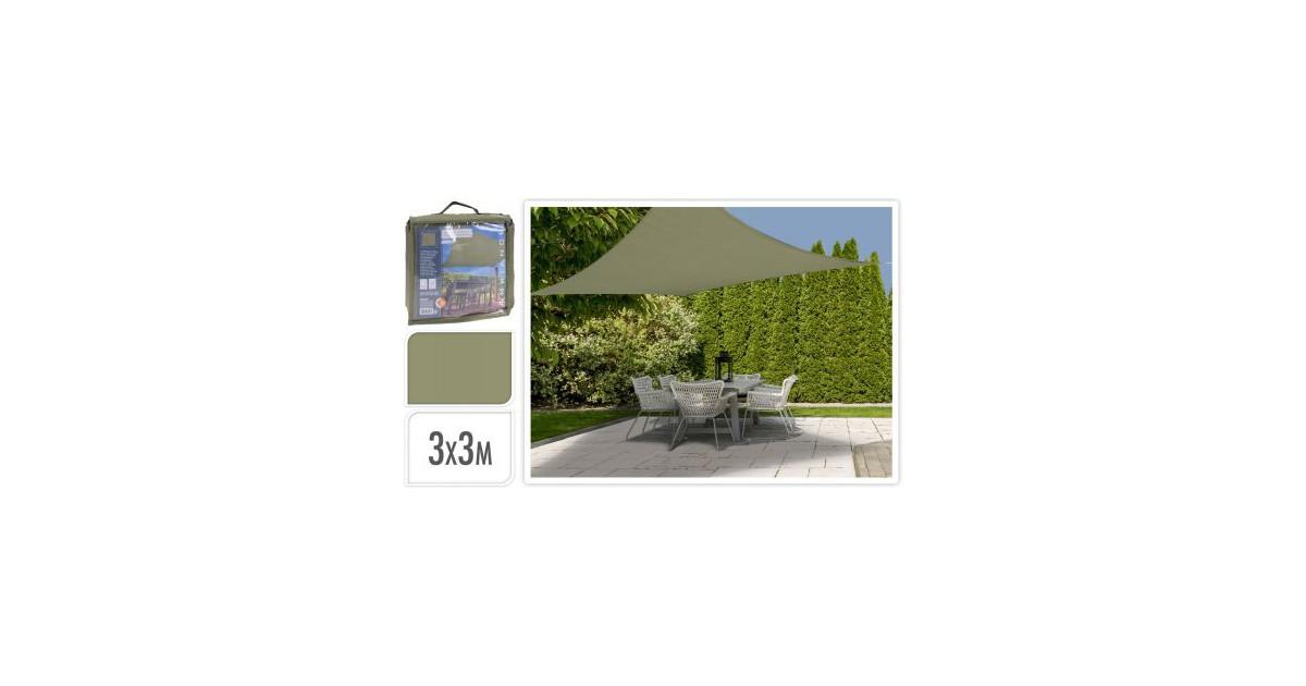 Koopman Schaduwdoek 3 X 3M Groen