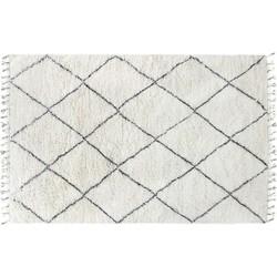 vloerkleed wol wit m 180 x 280