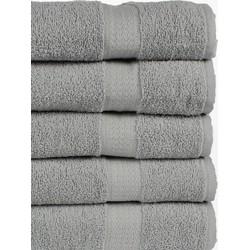 Nightlife - Sneldrogende handdoeken - 5-pak - Katoen - Grijs