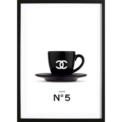 Chanel Coffee No. 5 Poster (29.7x42cm)