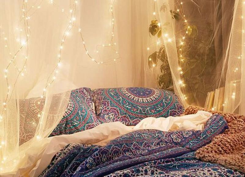 DIY: romantische lichtjes boven je bed