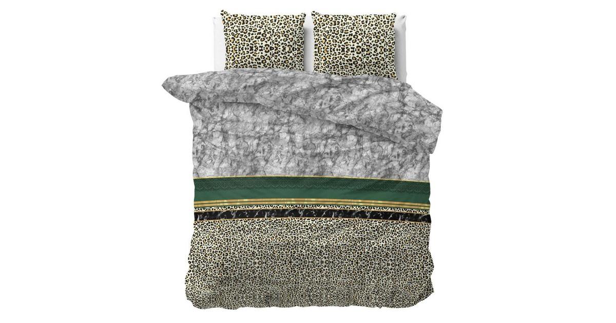 Sleeptime Dekbedovertrek Trendy Marble Green-2-persoons (200 x 200/220 cm)