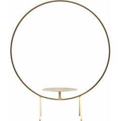 House Doctor Kandelaar Cirkel messing 40 x 48 cm