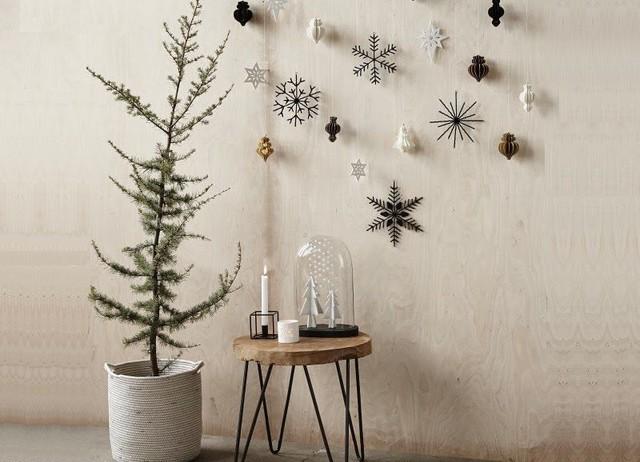 26x stylish kerstdecoratie