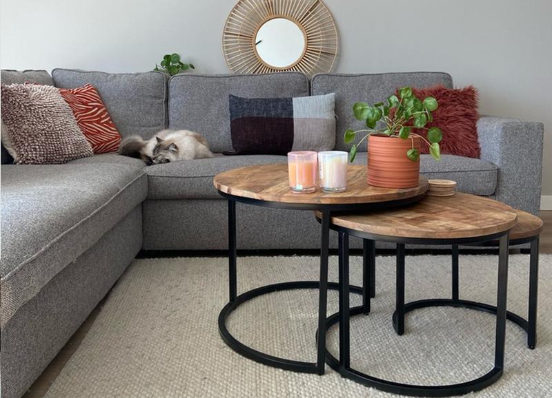 20x industriële salontafels die je zithoek stoerder maken