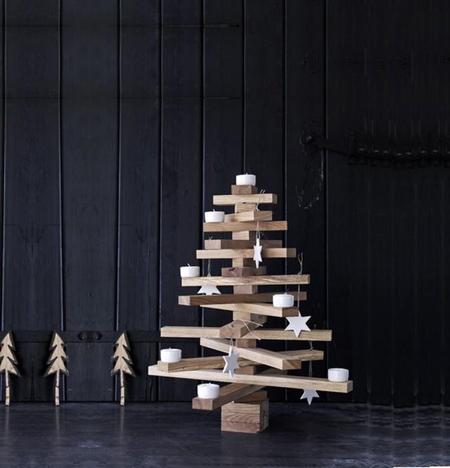 Dit zijn de leukste alternatieve kerstbomen