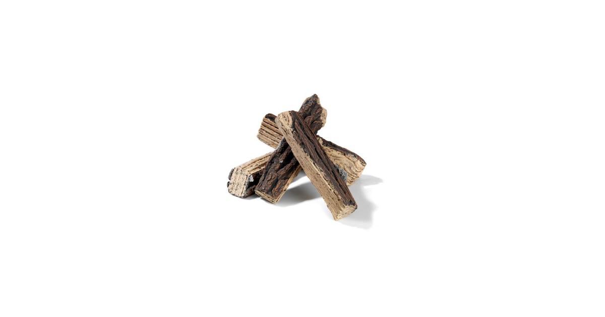 Happy Cocooning Extra keramisch houtblok voor Inbouwbranders (per stuk)