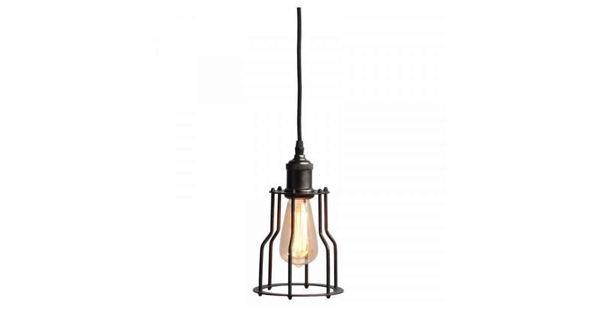 It's About RoMi Riga hanglamp met ijzeren kap zwart