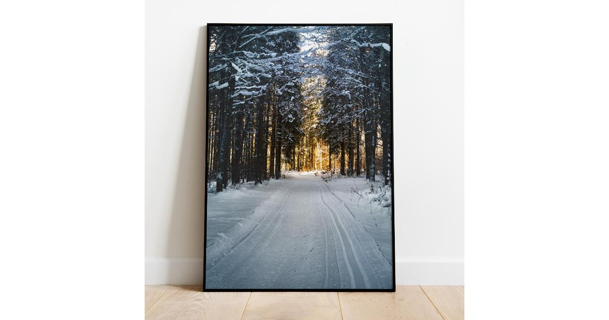 Poster winterglow - A3