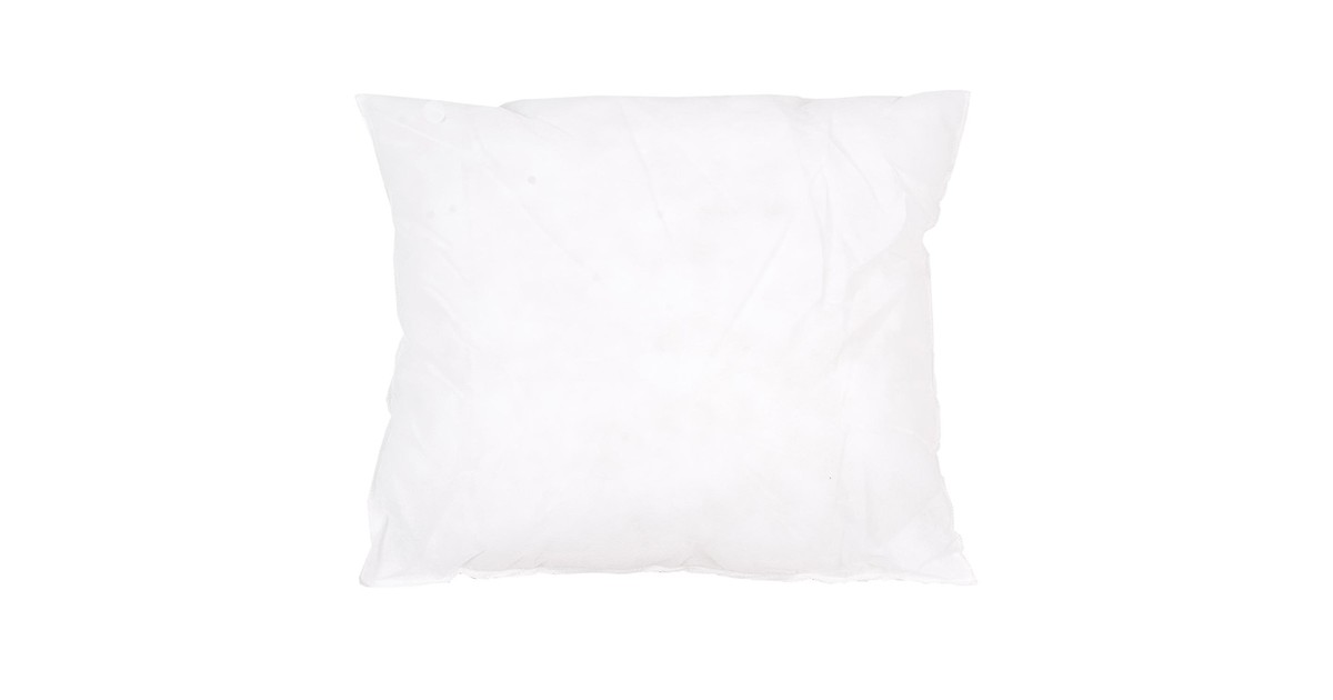 Clayre & Eef Kussenvulling Polyester 40*40 cm Wit Synthetisch Vierkant