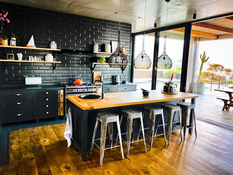 bar in de keuken