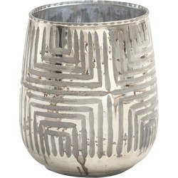 Mare Silver - 11.5 x 11.5 x 14.0 cm