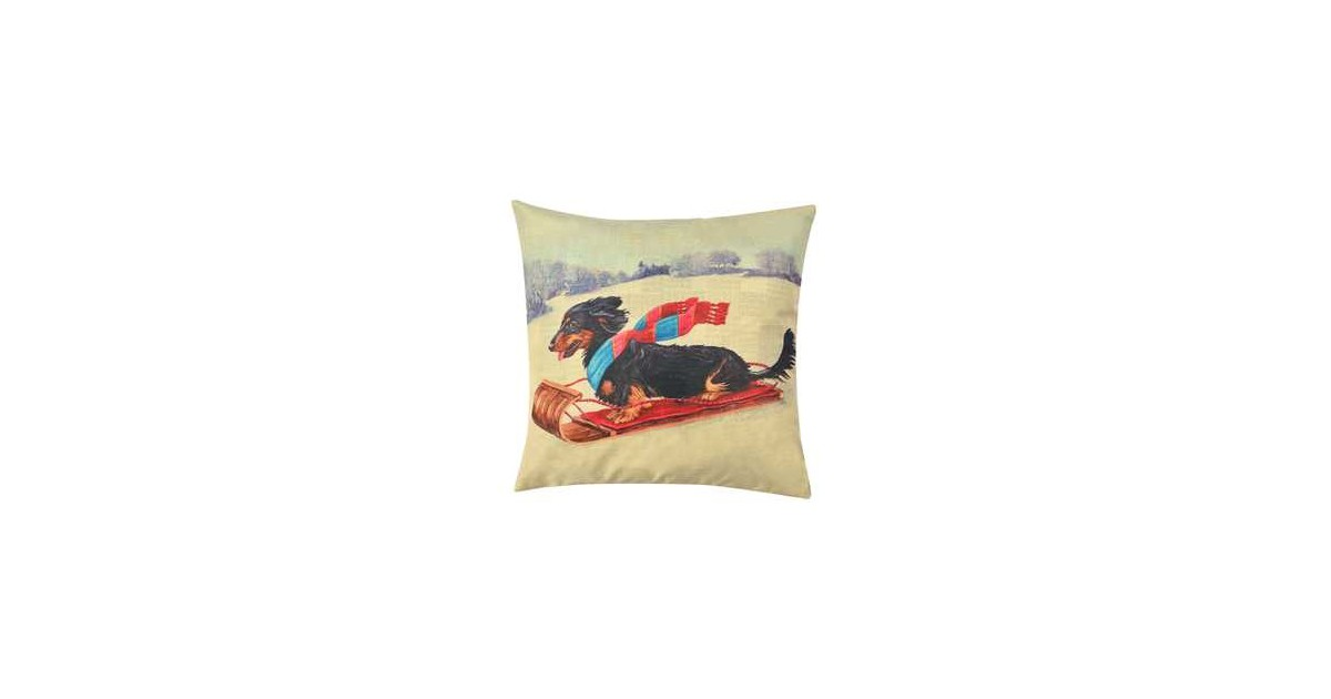 Clayre & Eef Kussenhoes - 43*43 cm - multi - 100% polyester -  - KT021.243