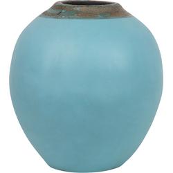 Decoratieve vaas blauw LAURI