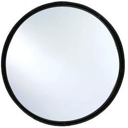 MD Interior spiegel rond Ø60 cm zwart met opstaande rand