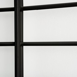 FENCY - 80x80cm - Black
