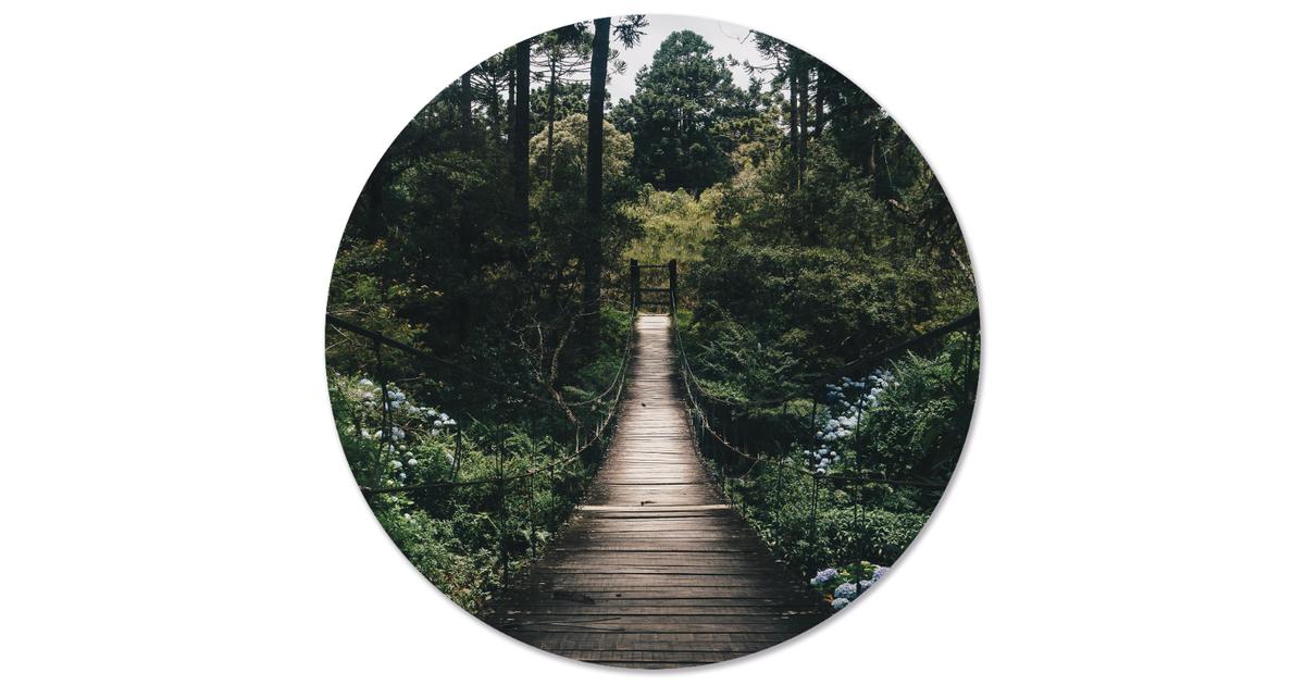 Muurcirkel klein brug - Ø 20 cm