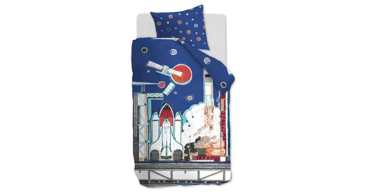 Beddinghouse Kids Dekbedovertrek Rocket Ship