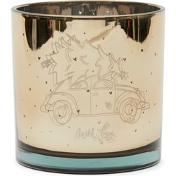 Riviera Maison RM Christmas Car Hurricane gold